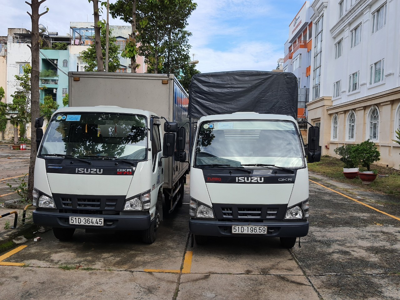 thuê xe tải giá rẻ